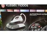 Brand new Russell Hobbs 22191 Auto Steam 2400W Generator Iron. Ceramic soleplate, Lightweight