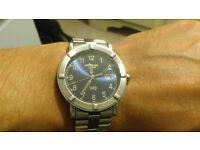 RAYMOND WEIL W1 6100 STAINLESS STEEL MENS WATCH