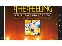 2 Tickets to see The Feeling at Birmingham Town Hall
