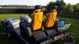 Arcade bucket seats