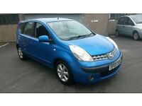 BARGAIN 2006 NISSAN NOTE 1.4 MOT MARCH 2018 £875 CHEAPER PX WELCOME