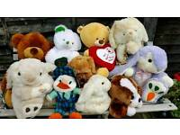 Collection of Soft Toys and Teddies