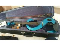 Stagg Electric Violin 4/4 - Blue