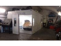 Fully Equiped Auto Body Shop/ Mechanical Repairs Garage Business For Sale Price Reduced to £20000ONO