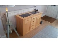 Solid Pine Cabinet/Sideboard