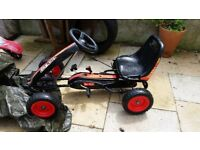 Child's pedal Go Kart for sale, suit 5yrs and up - £20
