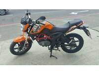 STUNNING GRS 125CC VERY LOW MILEAGE