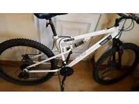 white mens mountain bike