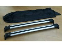 Genuine roof bars for a discovery 3 & 4