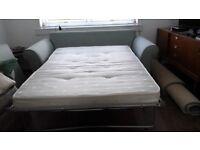 Hardly used sofa bed