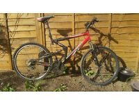 apollo fs.26 bike in need of cleaning and new tyres