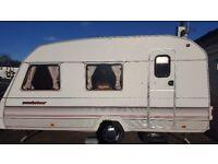 4 berth sprite touring caravan