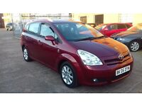 TOYOTA COROLLA VERSO 2.0 D4D T SPIRIT, 1 OWNER, FSH, DVD PLAYER, 2 TV'S!