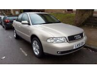 2001 Audi A4 1.6 SE Manual Low Mileage Cambelt Replaced Excellent Car!