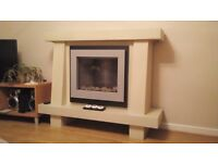 Flamerite Voyager Fire and Surround
