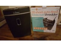 70 sheet auto feed paper shredder