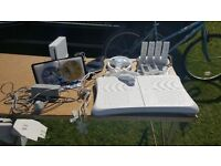 Bundle lot Wii console and Wii fit