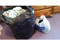 Bags of womans clothes, sizes 18, 20, 22