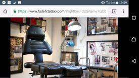 Tattoo studio art studio office gallery
