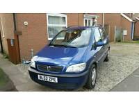 Vauxhall zafira 2.0 dti 2003 7 seater mpv