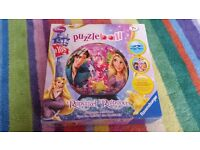 Rapunzel puzzle ball (Ravensburger), Ages 7+, 108 pieces
