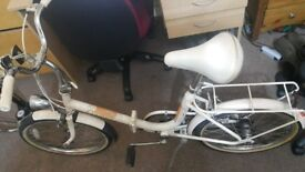 Raleigh adults folding bike. In excellent condition.