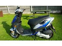 Keeway 50cc. Engine runs but bike needs work. Read notes. Can deliver