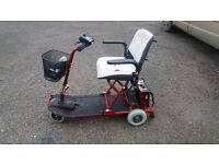 Barely used small foldaway scooter. In brilliant condition. No need of use, need home asap