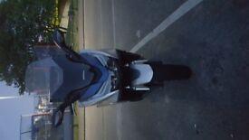 Honda Forza 125cc silver