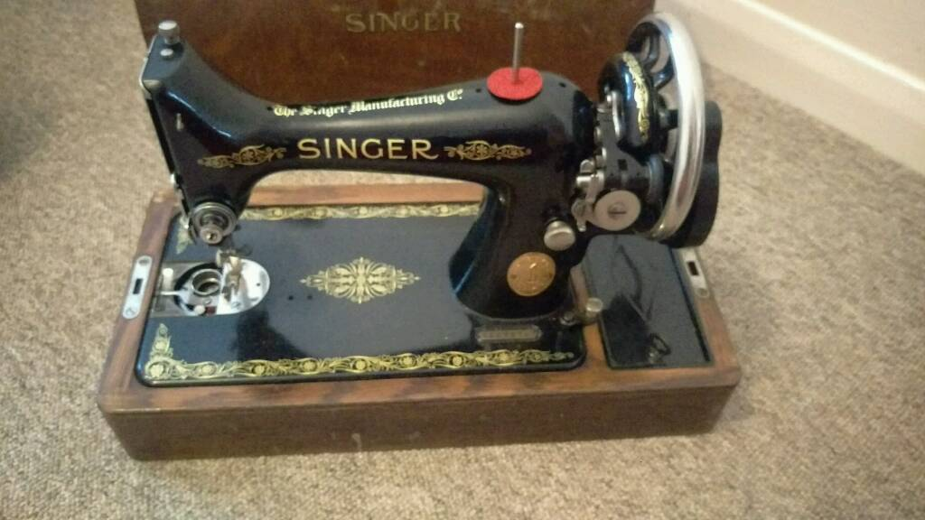 Antique 40k Singer Sewing Machine With Parts To Make Electric 40 Enchanting 1921 Singer Sewing Machine
