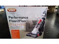 New - Vax U86-PM-TH Performance Floor-2-Floor Total Home Bagless Upright Vacuum Cleaner -3.5 litre