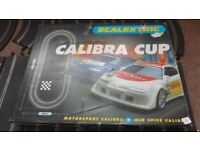 Scalextric Calibra Cup Complete Boxed 2 Car Set