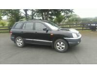 2005 hyundai santa fe deisel jeep moted june 19 £1095