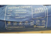 Outwell Hartford front extension canopy.