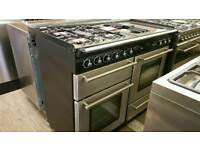 Fully reconditioned 110cm dual fuel range master cooker