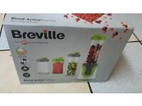 Breville Blend Active Green White VBL096 Family Pack 0.6L 300W New In Box