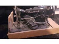 Vintage old sheenwood sewing machine