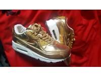Nike 90 liquid gold size 10