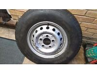 "2 x 15"" Vauxhall Movano / Renault Master Steel Wheels & Tyres"
