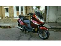Aprilia atlantic 500 not tmax sliver wing burgman