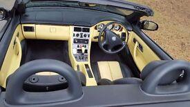 Mercedes Benz 200K, SLK Convertible, Automatic, Black, 6 Moths Warranty