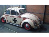 Vw beetle ...Rat look