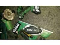 Hitachi 18v cordless power tools