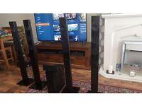 Samsung PS-ET2-1 Surround sound set up