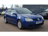 VOLKSWAGEN GOLF 1.9 TDI SE 5 DOOR, DIESEL, MK5, GOOD DRIVE, HPI CLEAR