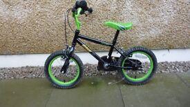 "Boys Apollo Claws 14"" Wheel Bicycle"