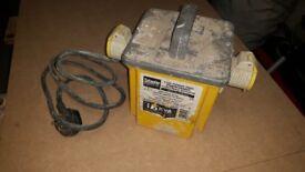 110 volt transformer 1.5 kva
