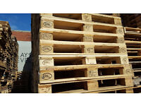 Wooden pallets Euro Epal solid wood grade pallet ready for furniture available deliery possible.
