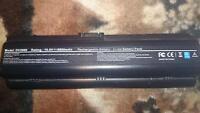 HP laptop battery model dv2000 v3000 dv6000 8800mAh