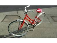 Girls basket bike